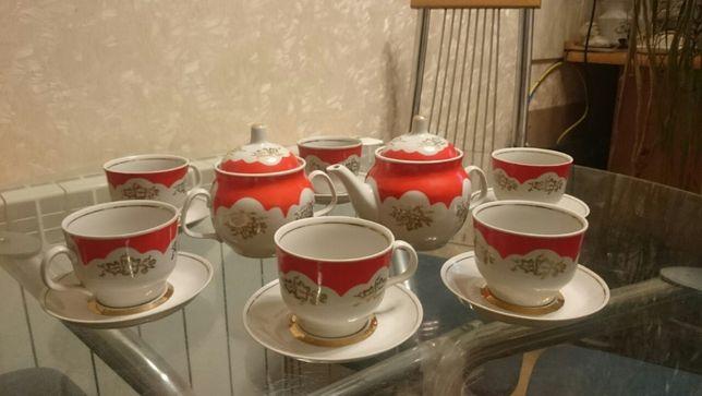 Винтаж: Чайный сервиз..ПФЗ. СССР