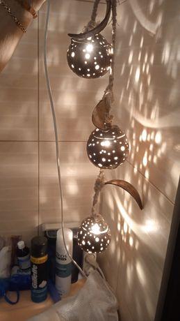 Светильник бра ночник да квартиры для кафе для оригинальный из кокоса