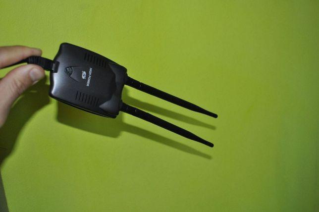 новий потужний USB wifi адаптер-2ві антени