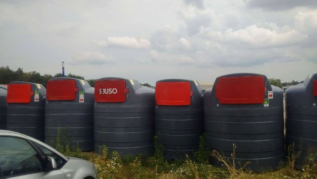 WIELUŃ MEGA PROMOCJA Dwupłaszczowy zbiornik na paliwo 5000l Sibuso
