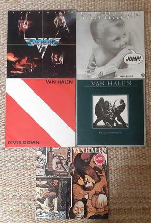 Van Halen - Cinco Discos Vinil