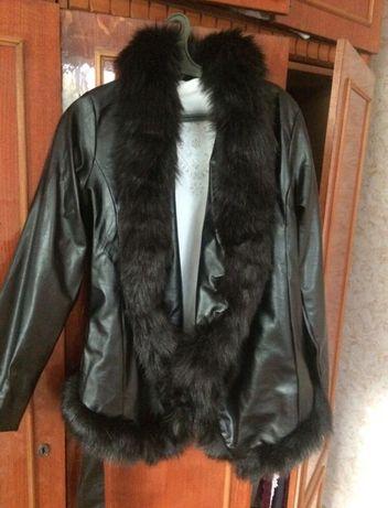 Курточка жіноча еко шкіра, весна-осінь!
