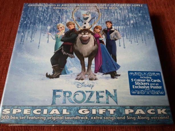 Kraina Lodu muzyka z filmu ze zdjęciami bohaterów 3 cd Disney
