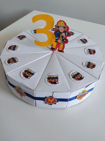Tort z papieru do przedszkola, urodziny, dzień dziecka