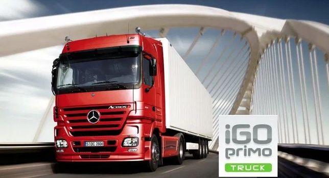 """Nawigacja GPS 7"""" iGO Primo Europa Truck nowe mapy Here i TomTom"""