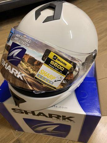 Damski kask motocyklowy Shark S600 Prime Biały