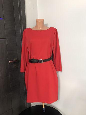 Czerwona sukienka Top Secret 42 XL