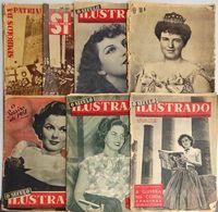 """Revistas Vintage """"O Século Ilustrado"""" Anos 40/50 (Ler Descrição)"""