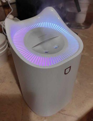Увлажнитель воздуха 3л  2 распылителя + LED ночник зволожувач повітря