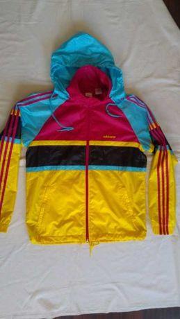 bluza sportowa- kurteczka adidas śliczna kolorowa