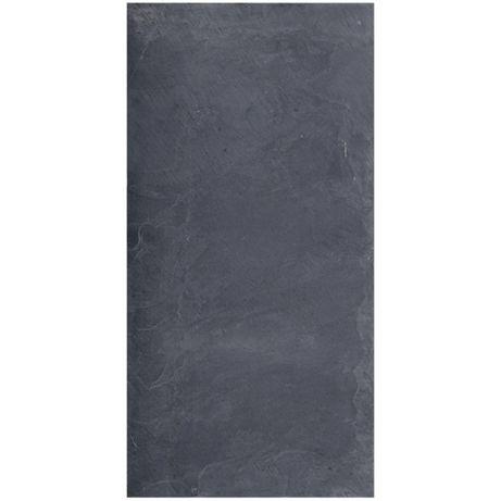 Płytki Łupek Black Slate naturalny 60x30x1 cm / ELEWACJA / PODŁOGA