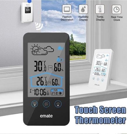 Термометр гігрометр метеостанція домашня градусник