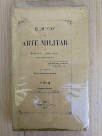 elementos da arte militar, d. luiz camara leme, tomo ii, 1879