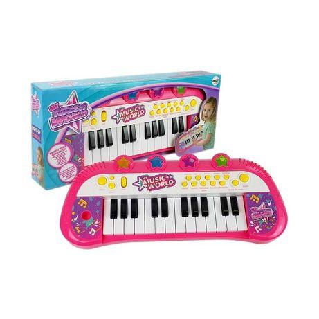 KEYBOARD PIANINO ORGANKI dla dziewczynki zabawki edukacyjne muzyczne