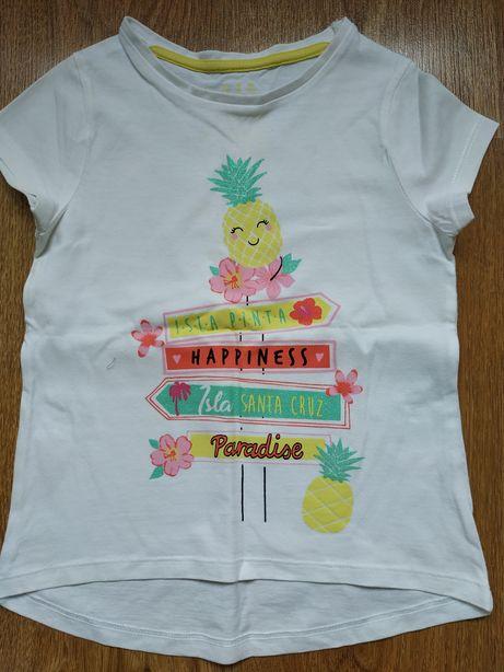 F&F koszulka dziecięca bluzka t-shirt rozmiar 104