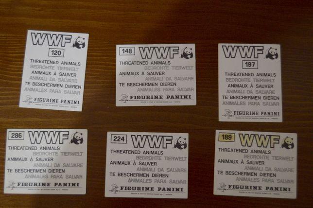 WWF - Threatened Animals - Panini