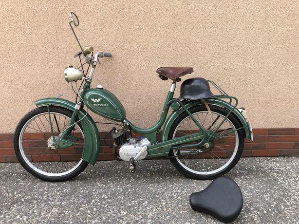 WANDERER SACHS 50 1955 Zabytek MOPED Motorower PAPIERY