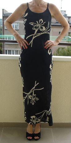 Nowa, letnia, długa sukienka na ramiączkach