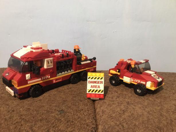 Конструктор Lego пожарние машины