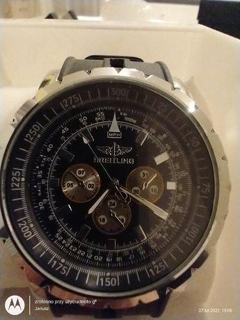 Fajny zegarek wskazówkowy BREITLING