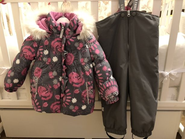 Зимний комплект lenne 86+6. Полукомбинезон и куртка зимний