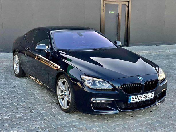 BMW 640 d автомат, кожа, монитор, 3.0 дизель 2013 год