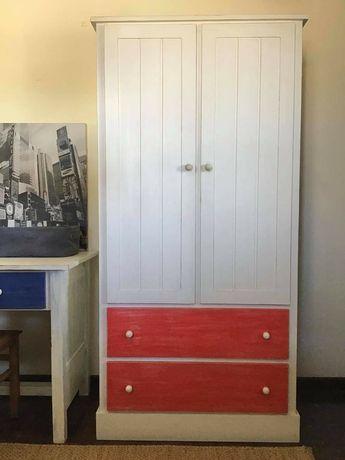 roupeiro,  armario,  decoração,  criança,  rustico