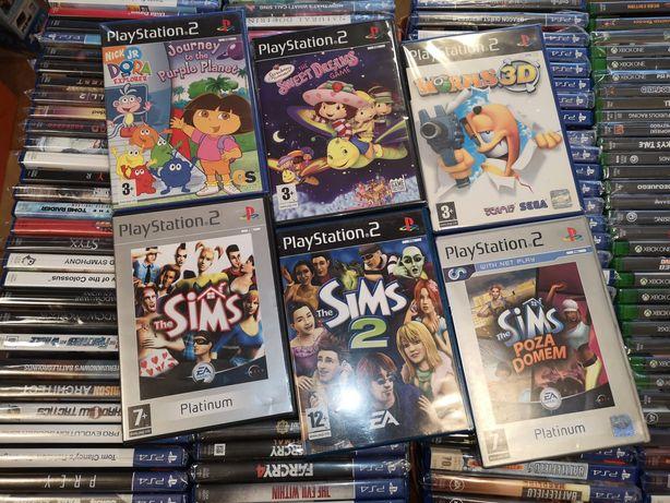6 Gier PS2 (wybór)