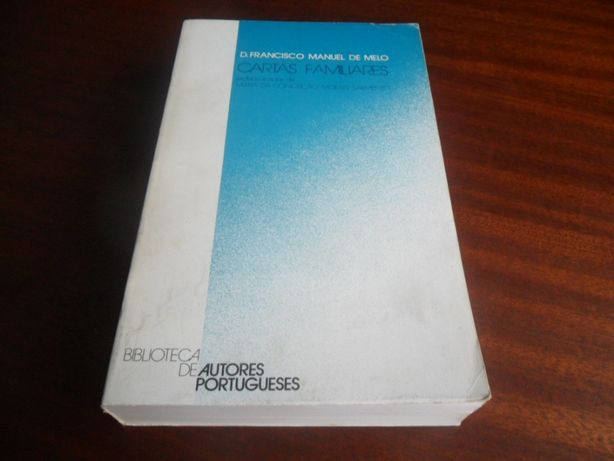 """Cartas Familiares"" de D. Francisco Manuel de Melo"