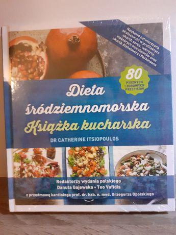 Ksdiazka kucharska-Dieta Sródziemnomorska