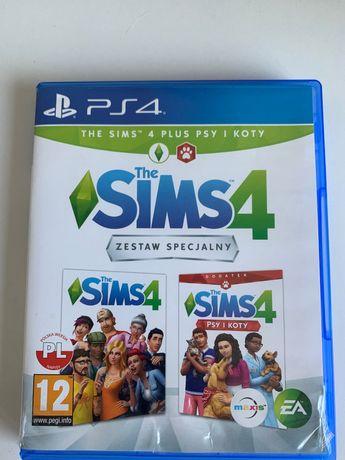 Sims 4 Psy i Koty PS4