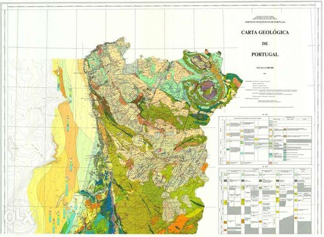 Carta Geológica de Portugal