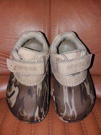 Резинові туфлі/ботінки crocs. Крокс. Розмір C6-7. Гумаки crocs