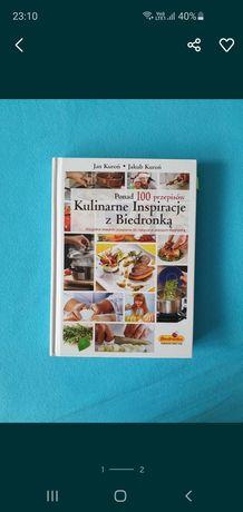 """Edukacyjna zabawka książka """"Kulinarne inspiracje z biedronką"""""""