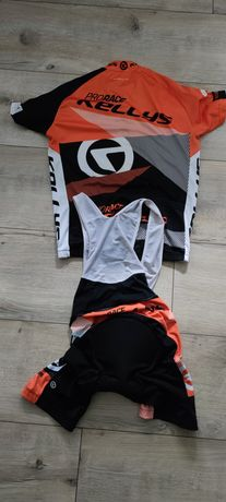 Strój na rower Kellys spodenki,koszulka i bluza rozmiar L