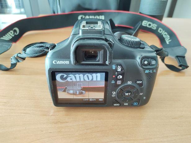 Aparat canon eos 1100d dwa obiektywa