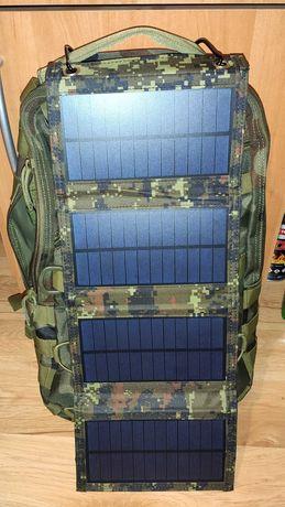 Ładowarka Solarna Słoneczna 5V 2A Survival Camo