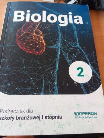 Książka biologia klasa 2 szkoła branżowa