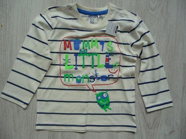 Cienka bluza dla chłopca, rozm. 86cm NOWA