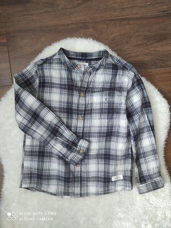 Koszula w kratę dla chłopca Newbie KappAhl rozmiar 104