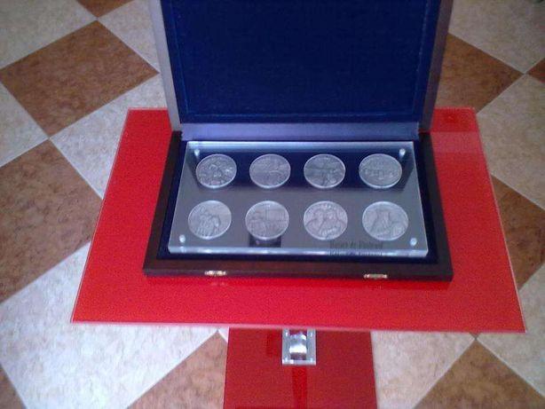 """Colecção de medalhas em prata fina """"Raízes de Portugal"""""""