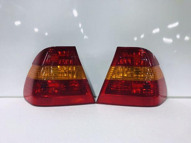 Стопи стопы на БМВ Е46 Седан рестайлінг задние фонари