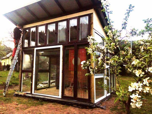 Domek drewniany 14m2