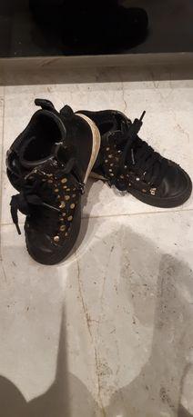 Buty sportowe Geox r 28 czarne