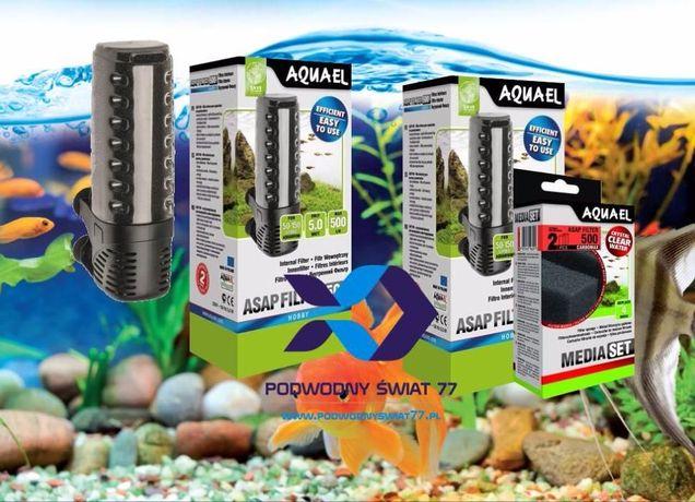 Aquael ASAP 300 500 i 700 filtr wewnętrzny - Nowe 2l gwar. - akwarium