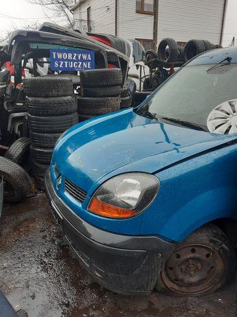 Renault Kangoo lift maska zderzak błotniki reflektory atrapa