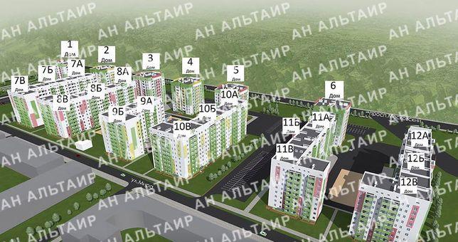 ЖК Мира 3, 2- к.квартира 53 м2 3/9 эт. в новострое .AM