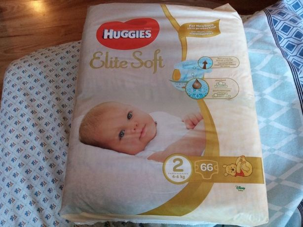 Huggies Elite Soft 2 - 66шт