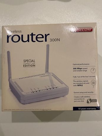 Router Sitecom 300N - Compact Size Special Edition