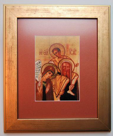 Ikona Święta Rodzina, Kiko Arguello, obrazek w ramie